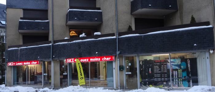location de ski à saint lary