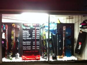 location de ski à saint lary soulan